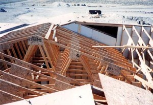 Plywood Gusset Trusses / Wendover, NV
