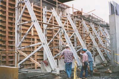 Movable Concrete Forms for Tunnel / LA Metro Rail, Los Angeles,CA